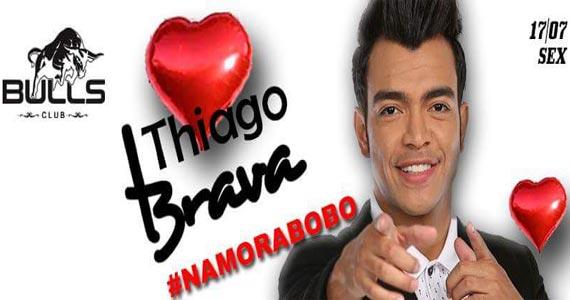 Thiago Brava anima o palco da Bulls Club com músicas sertanejas Eventos BaresSP 570x300 imagem