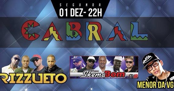 Segunda acontece a festa Pagofunk com convidados especiais na balada Cabral Eventos BaresSP 570x300 imagem