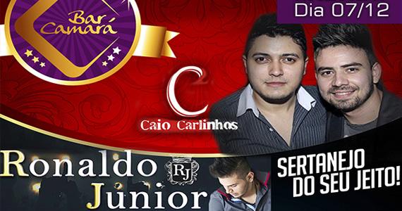 Dupla Caio Carlinhos e Ronaldo Junior se apresentam no Bar Camará Eventos BaresSP 570x300 imagem