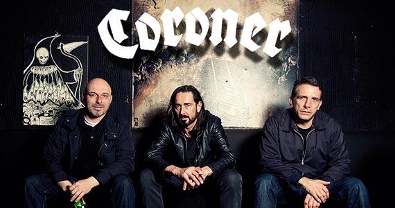 Banda suíça de metal Coroner faz show na balada Clash Club em São Paulo Eventos BaresSP 570x300 imagem