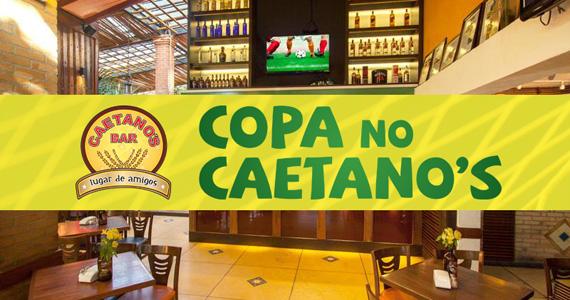 Caetano's Bar transmite jogo do Brasil com open bar de comida e bebida neste sábado Eventos BaresSP 570x300 imagem