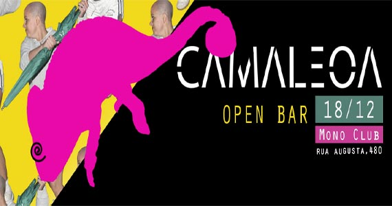 Festa Camaleoa promete muitas atrações agitando a Mono Club Eventos BaresSP 570x300 imagem