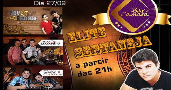 Sertanejo com convidados especiais no palco do Bar Camará Eventos BaresSP 570x300 imagem