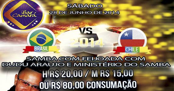Bar Camará prepara programação especial para o sábado  Eventos BaresSP 570x300 imagem