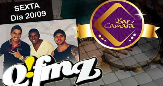 Muito pagode com o comando do Grupo Q!FMZ no Bar Camará  Eventos BaresSP 570x300 imagem
