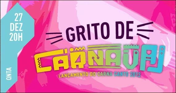 No canto Bar e Choperia apresenta a Noite Grito de Carnaval com programação especial Eventos BaresSP 570x300 imagem