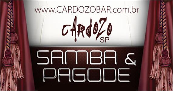 Noite de Samba e Pagode com convidados especiais no Cardozo Bar  Eventos BaresSP 570x300 imagem