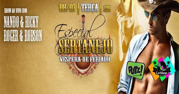 Caribbean Disco Club recebe Especial Sertanejo na véspera de feriado Eventos BaresSP 570x300 imagem