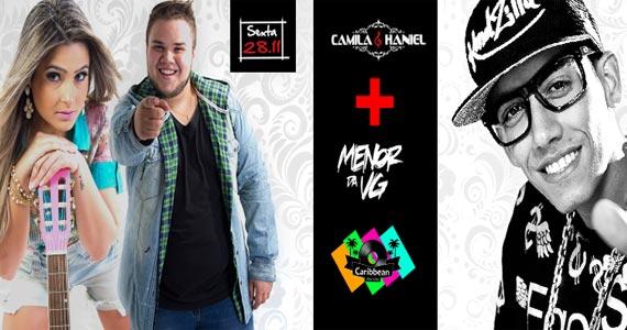 Camila & Haniel e Mc Menor da VG comandam a sexta-feira no Caribbean Disco Club Eventos BaresSP 570x300 imagem