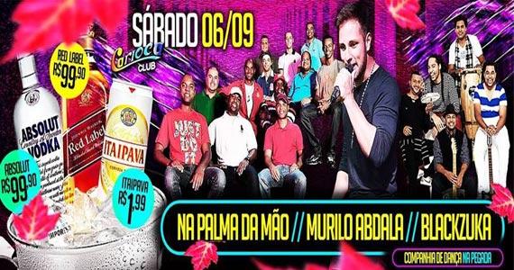 Carioca Club recebe Na Palma da Mão, Blackzuka, Murilo Abdala e muito mais neste sábado Eventos BaresSP 570x300 imagem