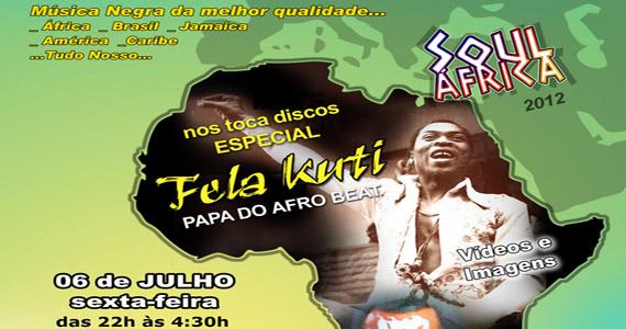 Projeto Soul África a festa tem mais uma edição na sexta-feira Eventos BaresSP 570x300 imagem
