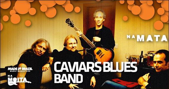 Na Mata Café recebe o lançamento do álbum Merlot da banda Caviars Blues Eventos BaresSP 570x300 imagem