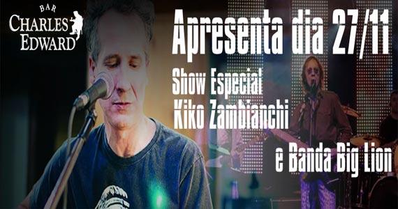 Bar Charles Edward recebe o show das bandas Big Lion e Zero Onze Eventos BaresSP 570x300 imagem