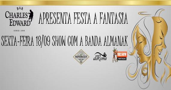 Bar Charles Edward realiza Festa Fantasia ao som da Banda Almanak na sexta Eventos BaresSP 570x300 imagem