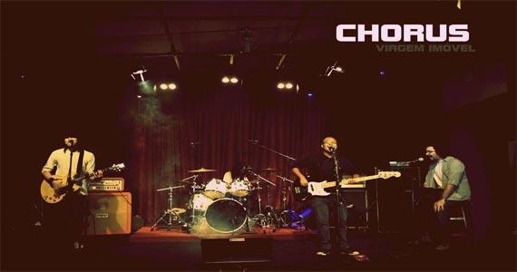 B Music Bar apresenta show da Banda Chorus Rush Cover agitando o sábado Eventos BaresSP 570x300 imagem