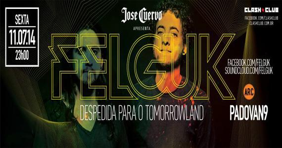Dupla de DJs Felguk comandam a noite de sexta-feira na Clash Club Eventos BaresSP 570x300 imagem