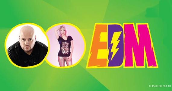 Festa EDM com DJs convidados agita a noite de sábado na pista da Clash Club Eventos BaresSP 570x300 imagem