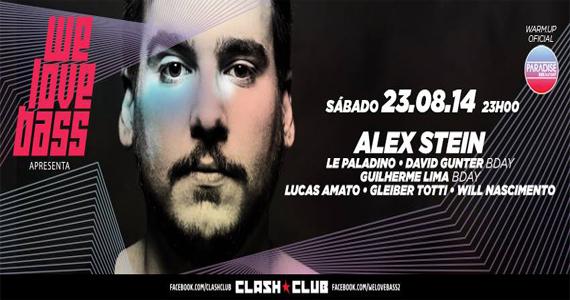We love Bass agita o sábado com DJs convidados na Clash Club Eventos BaresSP 570x300 imagem