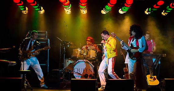 Classical Queen com Cover da banda Queen no The Wall Café  nesta quinta-feira Eventos BaresSP 570x300 imagem