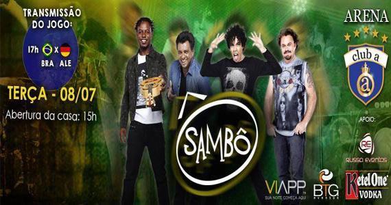 Grupo Sambô se apresenta nesta terça-feira no Club A São Paulo Eventos BaresSP 570x300 imagem