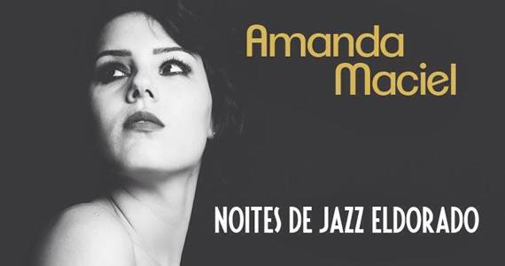 Noites de Jazz Eldorado com Amanda Maciel nesta terça-feira no Club A São Paulo Eventos BaresSP 570x300 imagem