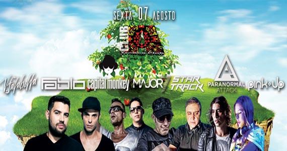 Club A apresenta Mega Festa de Música Eletrônica com Dj Capital Monkey e convidados Eventos BaresSP 570x300 imagem