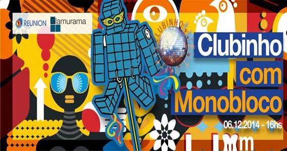 Festa Clubinho termina o ano com Monobloco neste sábado na Audio Club Eventos BaresSP 570x300 imagem