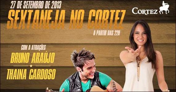 Sextaneja com Bruna Araújo e Thaina Cardoso no palco do Bar Cortez Eventos BaresSP 570x300 imagem
