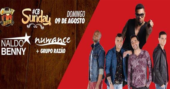 Country Beer promove show do Grupo Nuwance com participação de Naldo Benny Eventos BaresSP 570x300 imagem