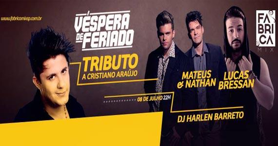 Mateus & Nathan e convidados realizam Tributo a Cristiano Araújo no Fabrica Mix Eventos BaresSP 570x300 imagem