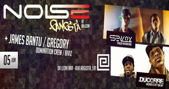 Da Leoni recebe grupo internacional de hip hop Sevenlox para animar a noite de quinta-feira Eventos BaresSP 570x300 imagem
