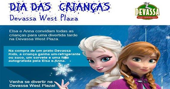 Cervejaria Devassa do Shopping West Plaza promove atração especial para o Dia das Crianças Eventos BaresSP 570x300 imagem