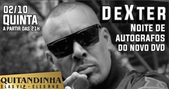 Rapper Dexter se apresenta nesta quinta-feira no Quitandinha Bar  Eventos BaresSP 570x300 imagem