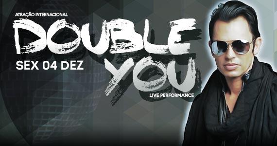 Atração Internacional Double You se apresenta no Dezoito Bar & Movement Eventos BaresSP 570x300 imagem