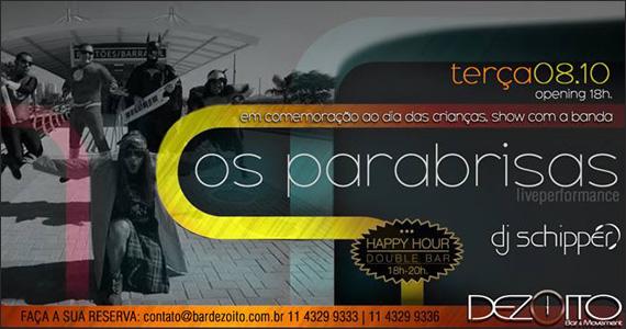 Na terça-feira o Dezoito Bar recebe Os Parabrisas Eventos BaresSP 570x300 imagem