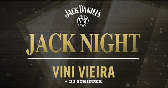 Festa Jack Daniels recebe Vini Vieira e DJ para animar a terça-feira do Dezoito Bar Eventos BaresSP 570x300 imagem