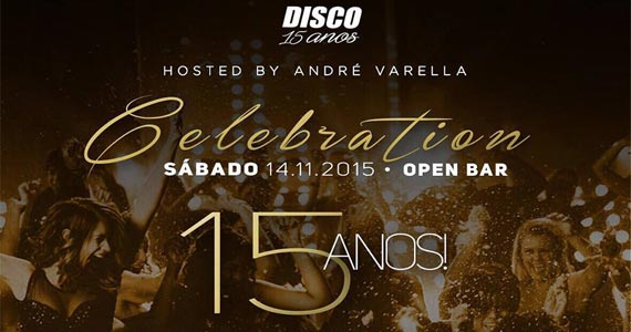 Disco Club realiza aniversário de 15 anos com atrações especiais Eventos BaresSP 570x300 imagem