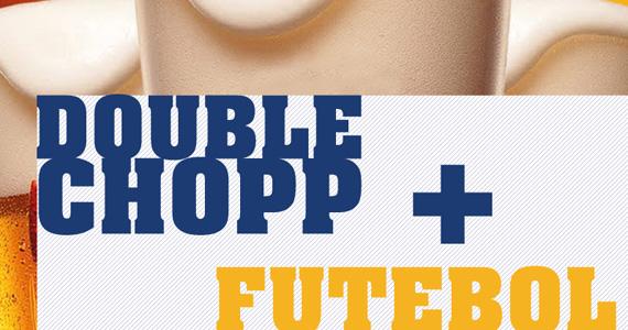 Double Chopp nesta quarta-feira durante os Jogos da Copa do Mundo no Divino Rei Eventos BaresSP 570x300 imagem