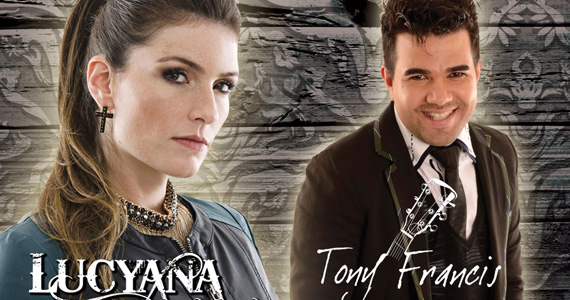 Lucyana e Tony Francis agitam o palco do Quintal do Espeto Moema Eventos BaresSP 570x300 imagem