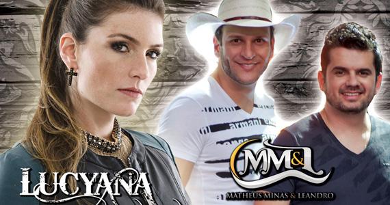 Lucyana e Matheus Minas & Leandro agitam o palco do Quintal do Espeto Moema Eventos BaresSP 570x300 imagem