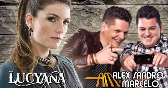 Lucyana e Alex Sandro & Marcelo agitam o palco do Quintal do Espeto Moema Eventos BaresSP 570x300 imagem