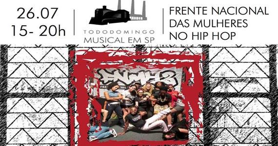 Casa das Caldeiras apresenta Domingo Musical com a Frente Nacional das Mulheres no Hip Hop Eventos BaresSP 570x300 imagem