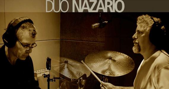Duo Nazário se apresentam no projeto instrumental bateristas no Sesc Ipiranga Eventos BaresSP 570x300 imagem