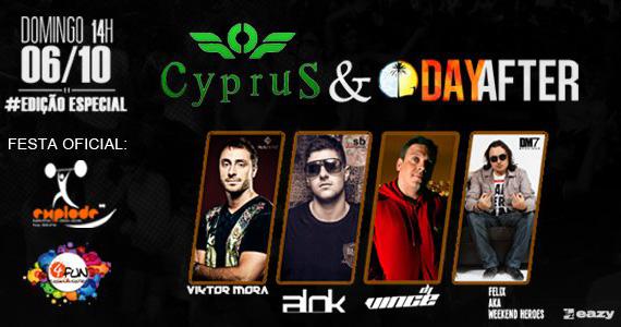 Eazy apresenta neste domingo a Festa Cyprus 3 anos & Dayafter  Eventos BaresSP 570x300 imagem