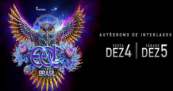 Electric Daisy Carnival apresenta DJ Avicii e convidados animando o Autódromo de Interlagos Eventos BaresSP 570x300 imagem