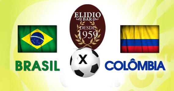 Elidio Bar transmite jogo de Brasil x Colômbia com bolão especial na sexta-feira Eventos BaresSP 570x300 imagem