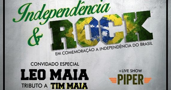 Independência & Rock com Leo Maia e banda Piper neste sábado no Jet Lag - Rota do Rock Eventos BaresSP 570x300 imagem