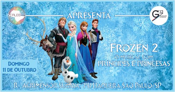 Musical Frozen: Uma Aventura Congelante estará em cartaz no Caleb SP em outubro Eventos BaresSP 570x300 imagem