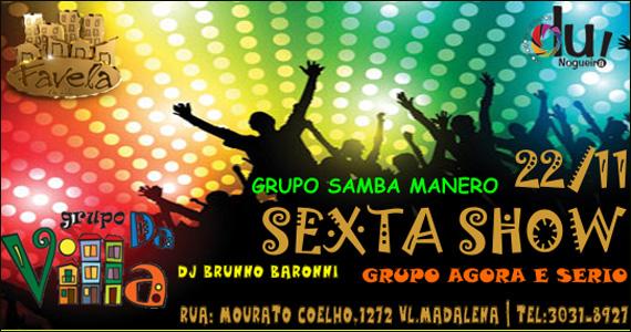 Favela da Vila embala a noite de sexta-feira com muito samba Eventos BaresSP 570x300 imagem