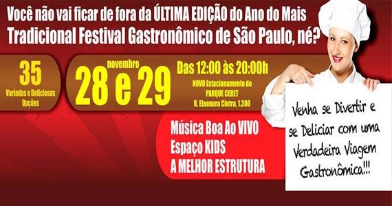Última Edição do Festival Gastronômico conta com muitos food trucks e barracas Eventos BaresSP 570x300 imagem